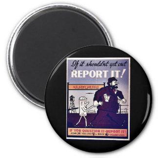 Report It Refrigerator Magnet