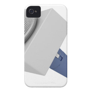 Reporter microphone iPhone 4 cover