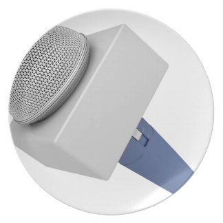 Reporter microphone plate