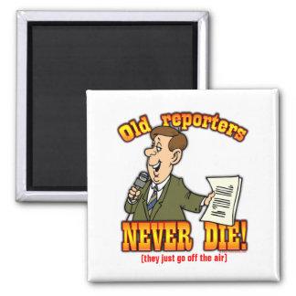 Reporters Fridge Magnet