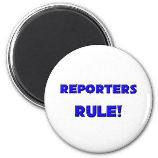 Reporters Rule! Fridge Magnets