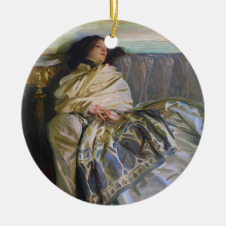 Repose by John Singer Sargent Ornament