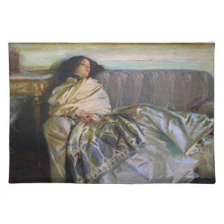 Repose by John Singer Sargent Place Mat