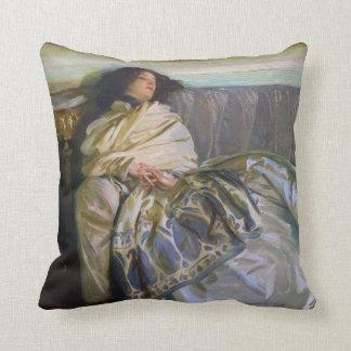 Repose by John Singer Sargent Throw Pillow