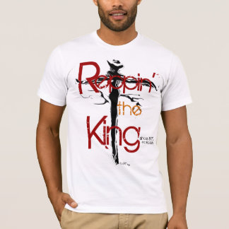 """Reppin the King"" by Michael Crozz T-Shirt"