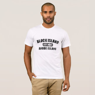 Represent the place you love - Block Island Rhode T-Shirt