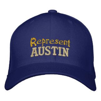 Représentez le casquette d'Austin Casquette De Baseball