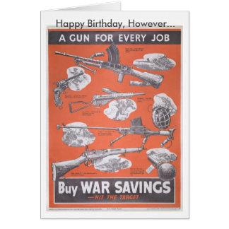 Reprint of British wartime poster. Card