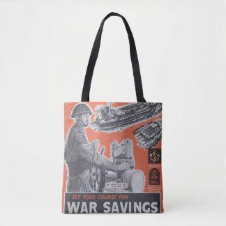 Reprint of British wartime poster. Tote Bag