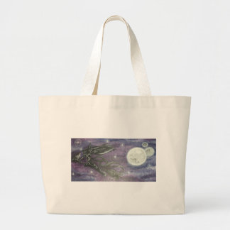 Reprinted painting by David Berbia Large Tote Bag
