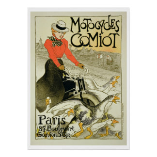 Reproduction of a Poster Advertising Comiot Motorc