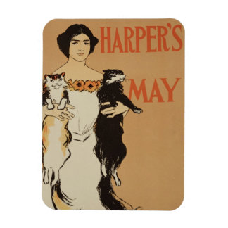 Reproduction of a poster advertising the May Issue Magnet