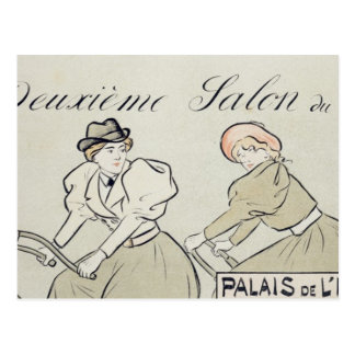 Reproduction of a poster advertising the 'Salon du Postcard