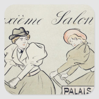 Reproduction of a poster advertising the 'Salon du Sticker