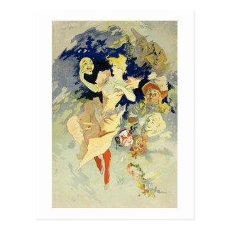 Reproduction of 'La Danse', 1891 (litho) Postcard