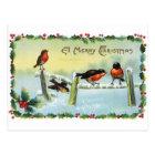 Reproduction Vintage Christmas Postcard