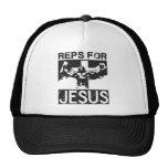 Reps For Jesus Trucker Hats