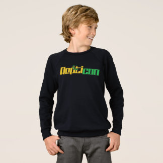 Repticon Logo Raglan Sweatshirt for Boys