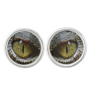 Reptile eyes cuff links