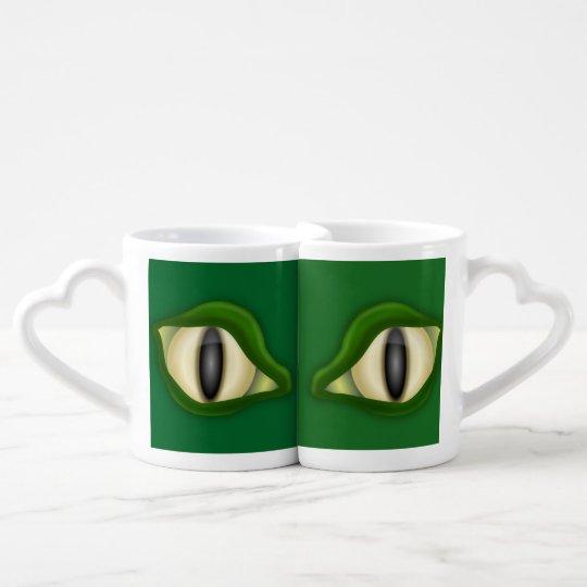 Reptile Eyes Matching Mug Set