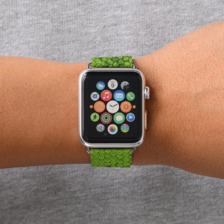 Reptile Green Apple Watch Band