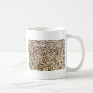 Reptile skin pattern coffee mug