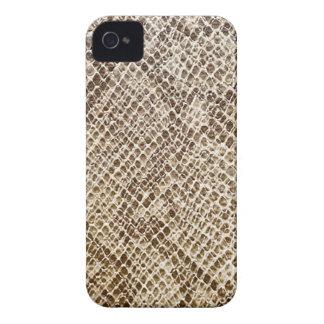Reptile skin pattern iPhone 4 case
