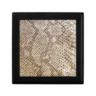 Reptile skin pattern jewelry boxes