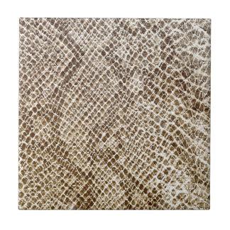 Reptile skin pattern tile