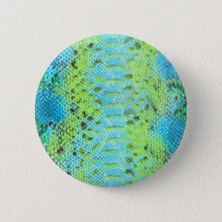Reptile skin Snake pattern 2 Inch Round Button