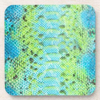 Reptile skin Snake pattern Coaster