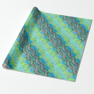 Reptile skin Snake pattern Wrapping Paper
