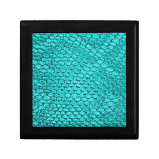 Reptile Turquoise Blue Gift Box