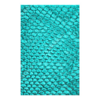 Reptile Turquoise Blue Stationery