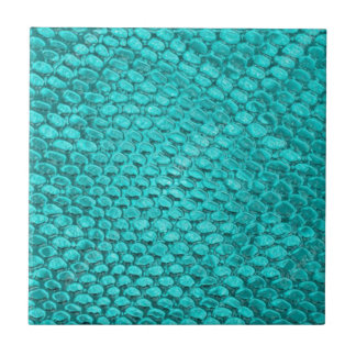 Reptile Turquoise Blue Tile