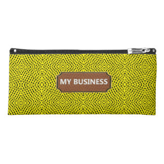 Reptile Yellow My business Pencil Cases