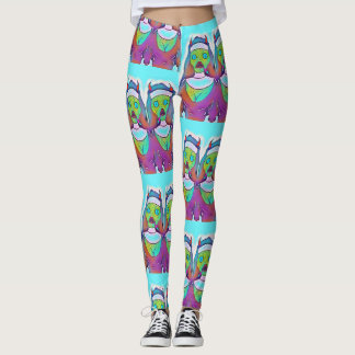 Reptilian Demon Nuns Leggings