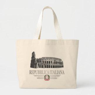 Repubblica Italiana (Colisé romain) Sac En Toile Jumbo