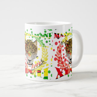 Republic of Guyana 47th Mashramani  Anniversary Large Coffee Mug