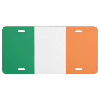 Republic of Ireland Flag License Plate