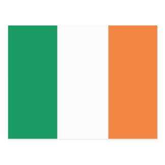 Republic of Ireland Flag Postcard
