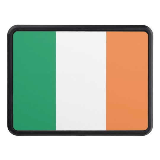 Republic of Ireland Flag Trailer Hitch Cover