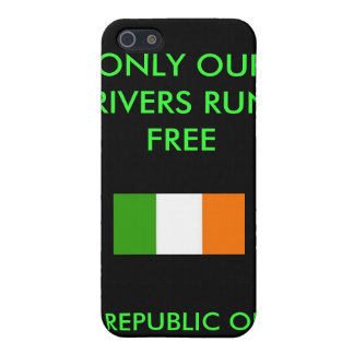 REPUBLIC OF IRELAND, ONLY OUR RIVERS RUN ... iPhone 5/5S CASES