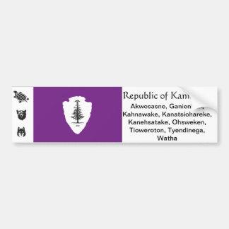 Republic of Kanienkeh Bumper Sticker