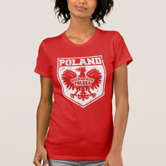 Republic of Poland Eagle Emblem Women's T-Shirt