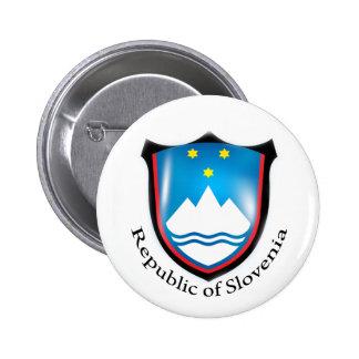 Republic of Slovenia Button