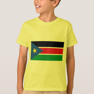 Republic of South Sudan Flag on Tshirts and Gifts