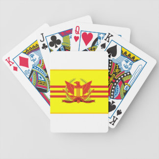 Republic of South Vietnam Military Forces Flag Bicycle Playing Cards