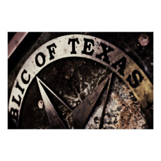 Republic of Texas *poster* Poster