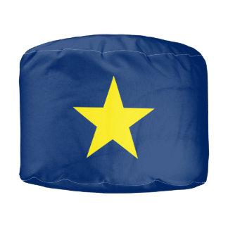 Republic of Texas Pouf